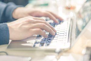 パソコンで文章を書く